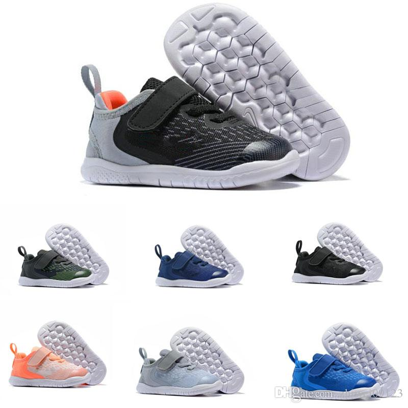 60802dd961f Professional Wholesale New Free Run 5.0 Kids Children Trainer Running Shoes  Boys Girls Runner Sports Jogging Sneakers Size 24 37 Basketball Shoes For  Kids ...