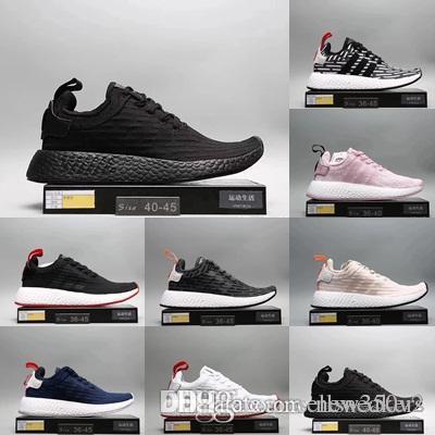 a1890e6d806 2019 Cheap Hot-sell Athletic R2 Runner PK Primeknit Casual Shoes Men ...