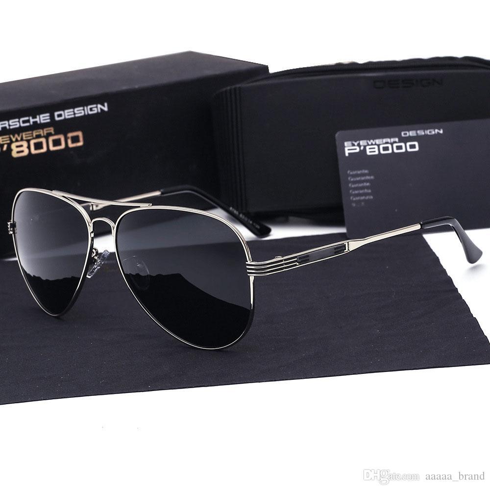 def5ebe639 Brand Fashion Classic Polarized Sunglasses Men S Designer HD Goggle  Integrated Eyewear Sun Glasses UV400 For Men Women With Retail Box Glasses  For Men Mens ...