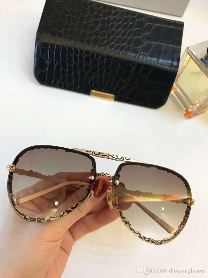 Compre Gafas De Sol Cuadradas Para Mujer Gafas De Sol Doradas Con ...