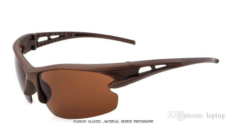 Erkekler için 2018 yeni marka güneş gözlüğü sürüş güneş gözlüğü tasarımcı güneş gözlüğü bisiklet spor göz kamaştırıcı gözlük erkekler yansıtıcı kaplama s ...
