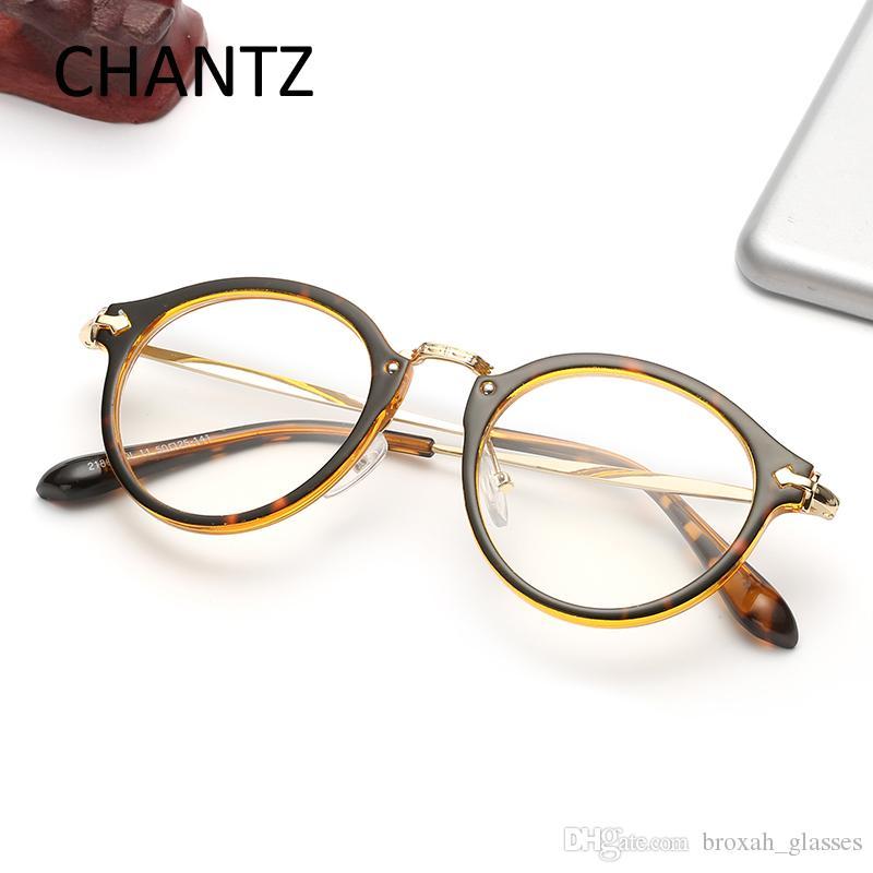 4dc0e24eded Vintage Cheap Glasses Frame Women Men s Ultra-light Elegant Optical ...