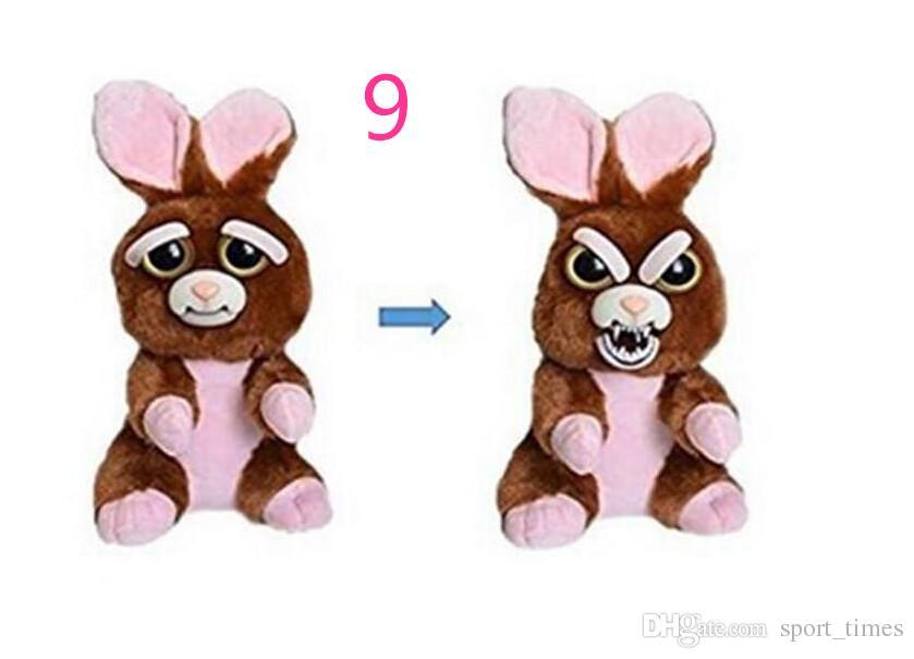 animali domestici pelosi giocattoli di peluche bambini regalo di natale occhi grandi cane panda gatto scimmia cambia faccia peluche bambole con espressione divertente