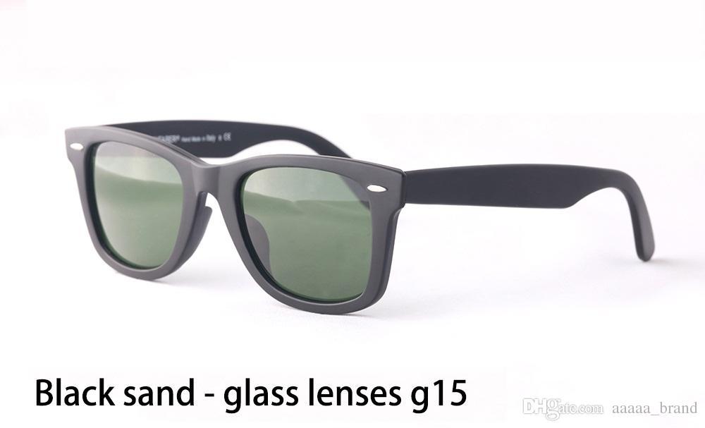 Sıcak satış 50 / 54mm Sunglasses Erkekler Kadınlar Marka Tasarımcı Metal menteşe Güneş vaka ve kutu ile UV400 cam Lens Spor gözlükler