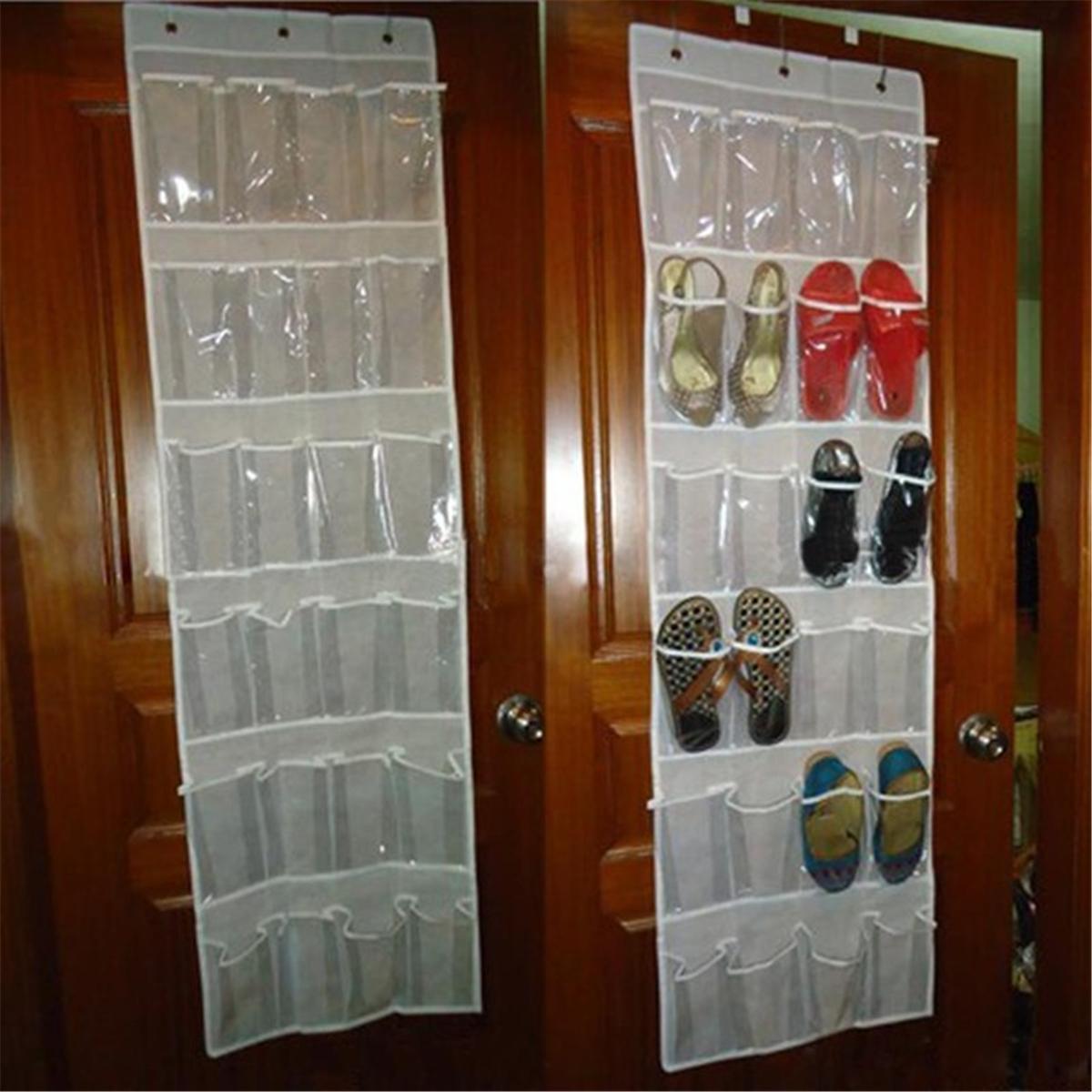 Porte Chaussure Derriere Porte acheter style coréen derrière porte chaussures porte chaussures suspendu  support de stockage porte chaussures À ongles gratuit organisateur espace