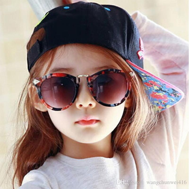 87bfe1ba47 Baby Boys Girls Kids Sunglasses Vintage Round Sun Glasses Children Arrow  Glass 100%UV Protection Oculos De Sol Gafas Cheap Designer Sunglasses  Sunglasses ...