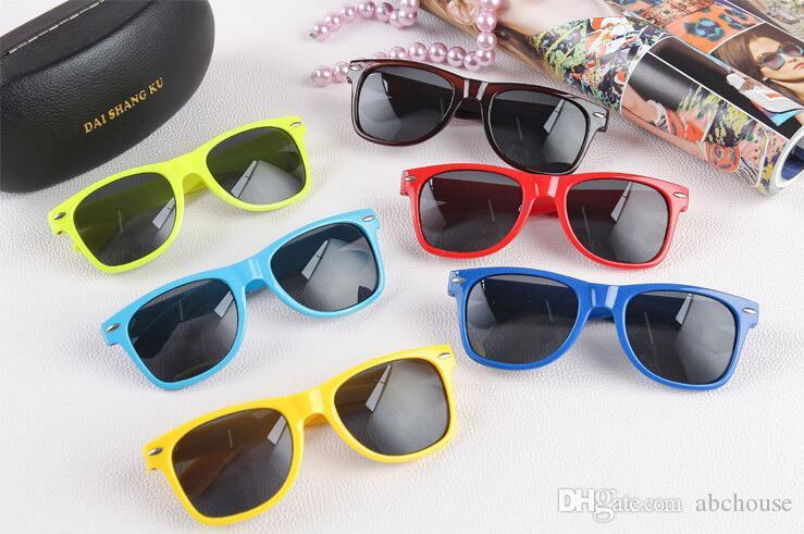 classic plastic sunglasses retro vintage square sun glasses for women men adults kids children multi colors