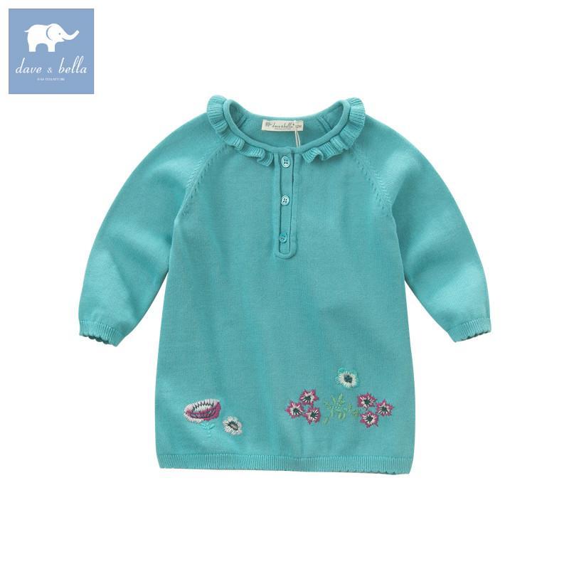 Db5892 Dave Bella Autumn Newborn Baby Girls 100 Cotton Pullover