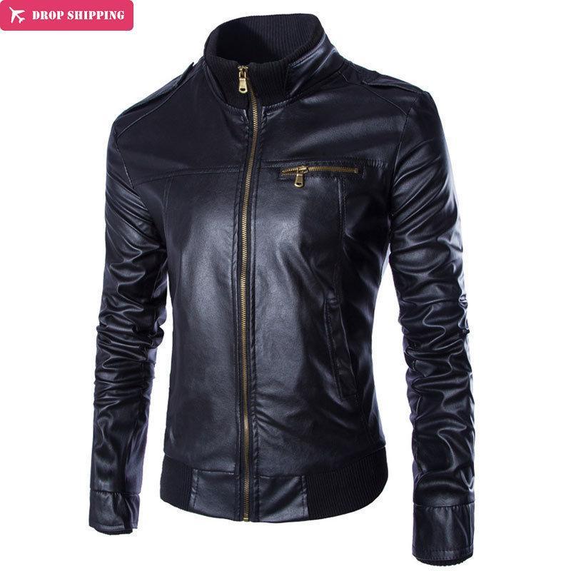 Acheter blouson veste cuir homme
