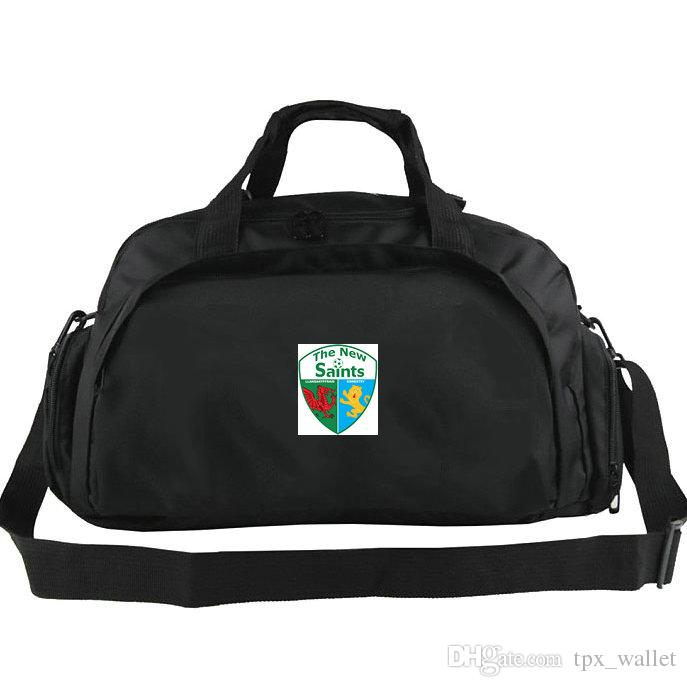 3ff4866d2284 TNS Duffel Bags FC The New Saints Llansantffraid Club Tote Football ...
