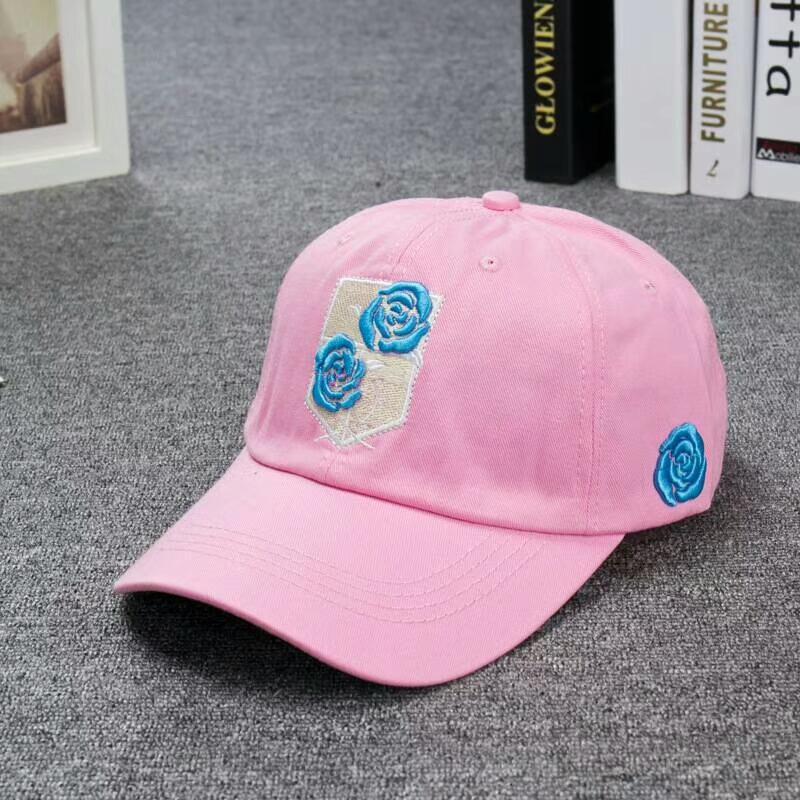 Compre Nueva Llegada De Moda Gorra De Béisbol De La Marca De Lujo Rosas  Bordado Gorras De Algodón De Calidad Superior Ocio Sombrero Popular Pareja  Sombrero ... af79bd31e55