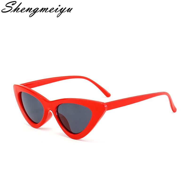 11841dde02e New Vintage Cat Eye Sunglasses Women Brand Designer Personality ...