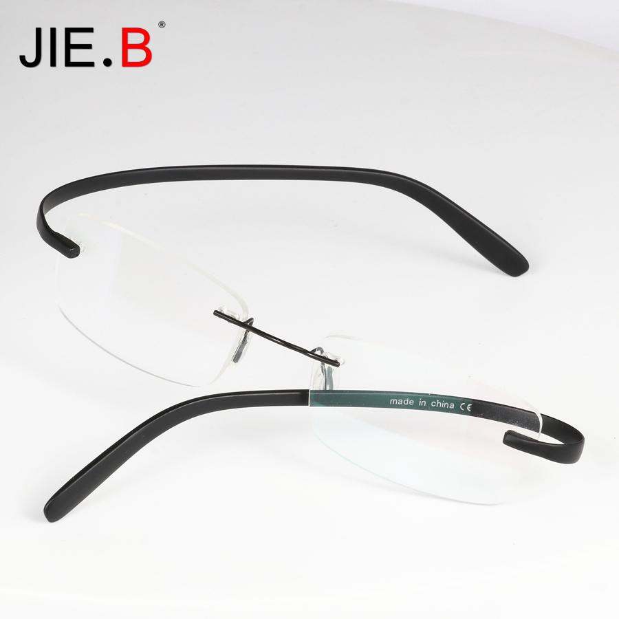 Compre Titanium Óculos De Armação Homens Semi Sem Aro Prescrição Óculos  Mulheres Miopia Optical FramesTR90 Eyewear De Shuidianba,  45.49    Pt.Dhgate.Com 24752de049