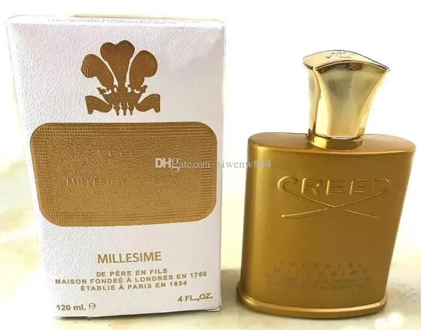 2019 2018 Hot Buy High End Mens New Creed Perfume Gold Bottle