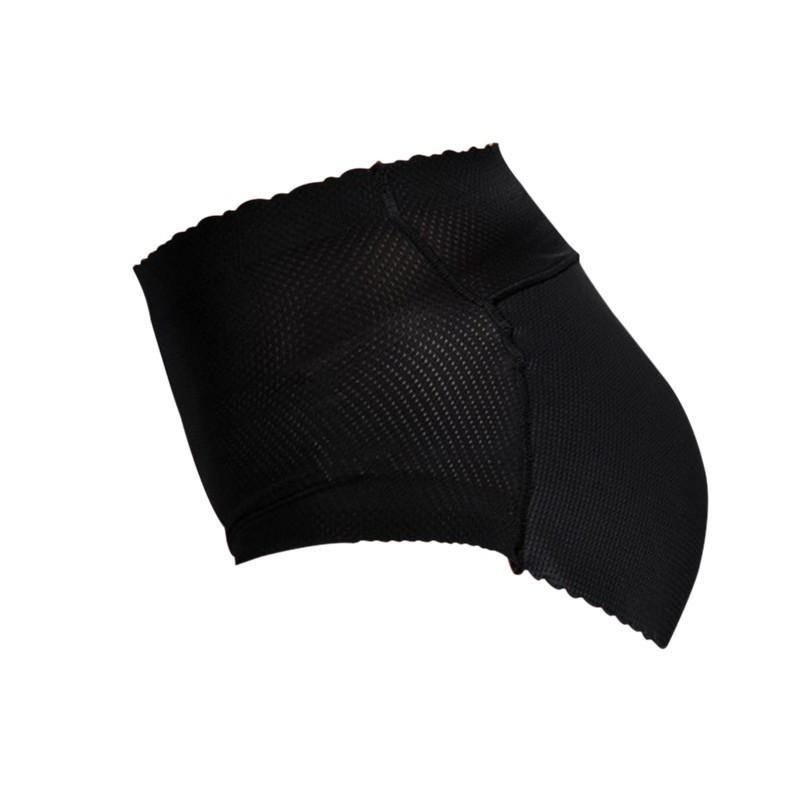 Sexy Womens Underwear Padded Panties Seamless Bottom Sponge Push Up Middle Waist Butt lift Briefs Underwear