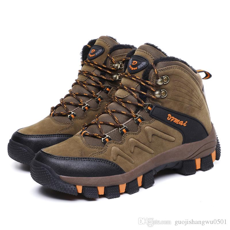 f113cf1b4fba High Quality Men Hiking Shoes New Autumn Winter Brand Outdoor Sport ...
