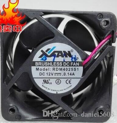 RDM4025S1 4025 12V 0.14A 40 * 40 * 25MM 2 Drahtlüfter