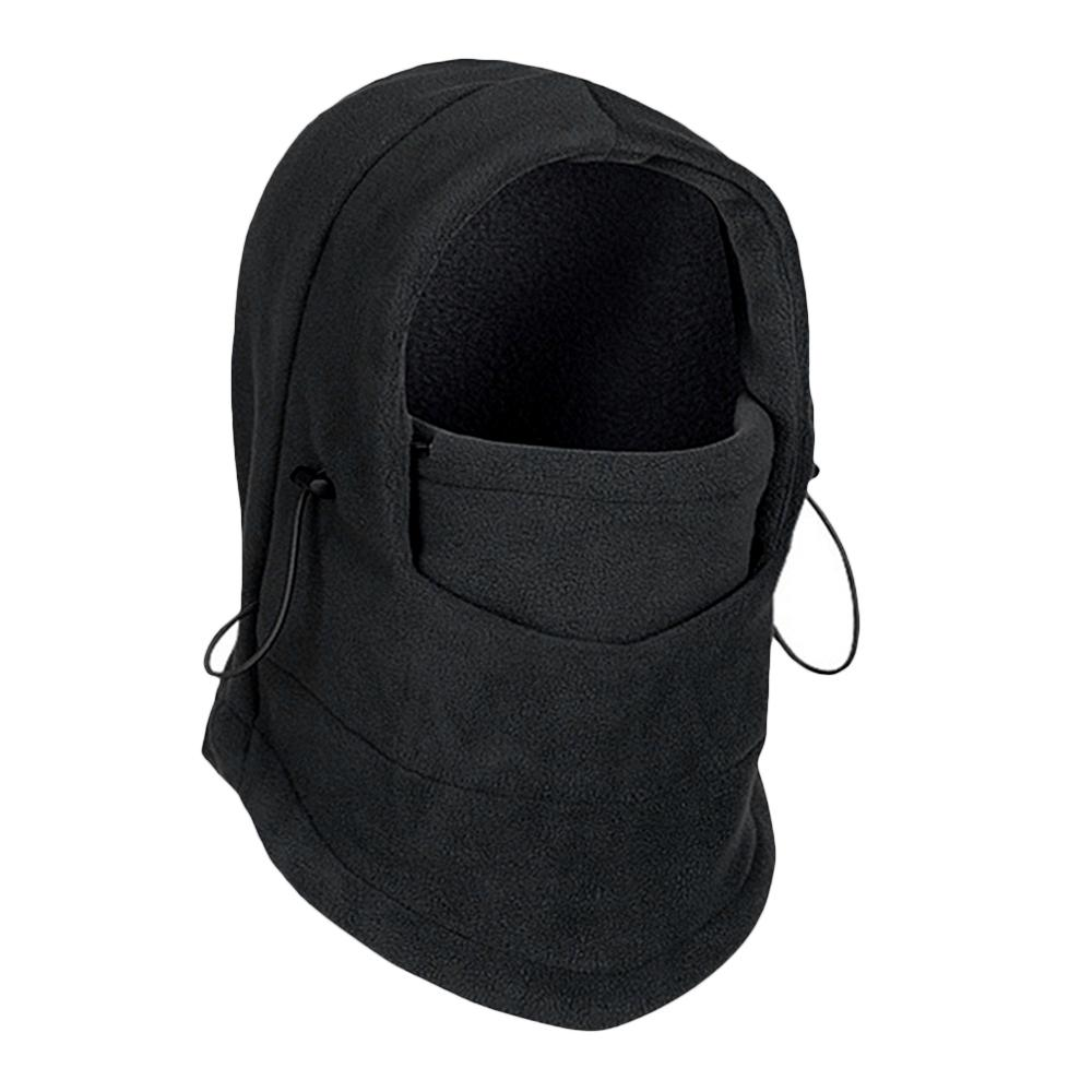 44f35185a18 2019 6 In 1 Thermal Fleece Balaclava Hat Hood Ski Bike Wind Stopper Face  Mask Men Neck Warmer Winter Fleece Motor Neck Helmet Cap From Johiny