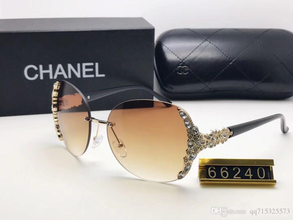 New Arrivals 2019 Metal Sunglasses Men Women Brand Designer Glasses