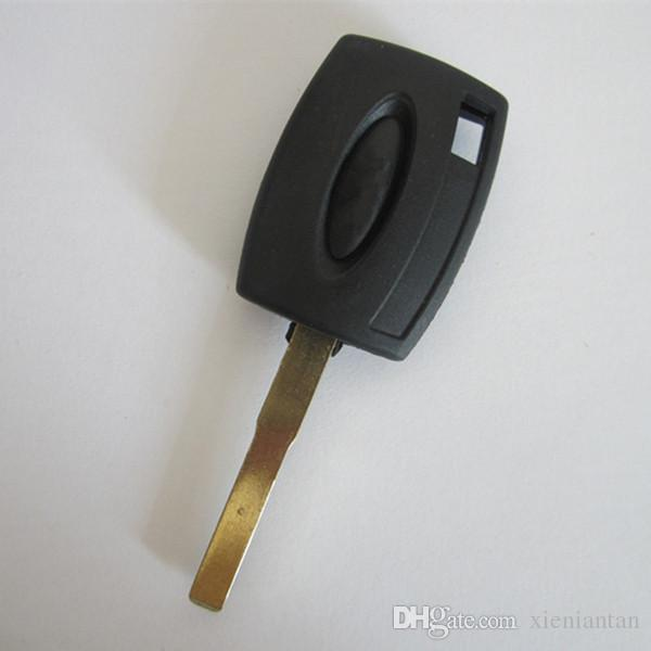 For Ford Focus Blank Transponder Key Shell Can Install Chip With Logo S43