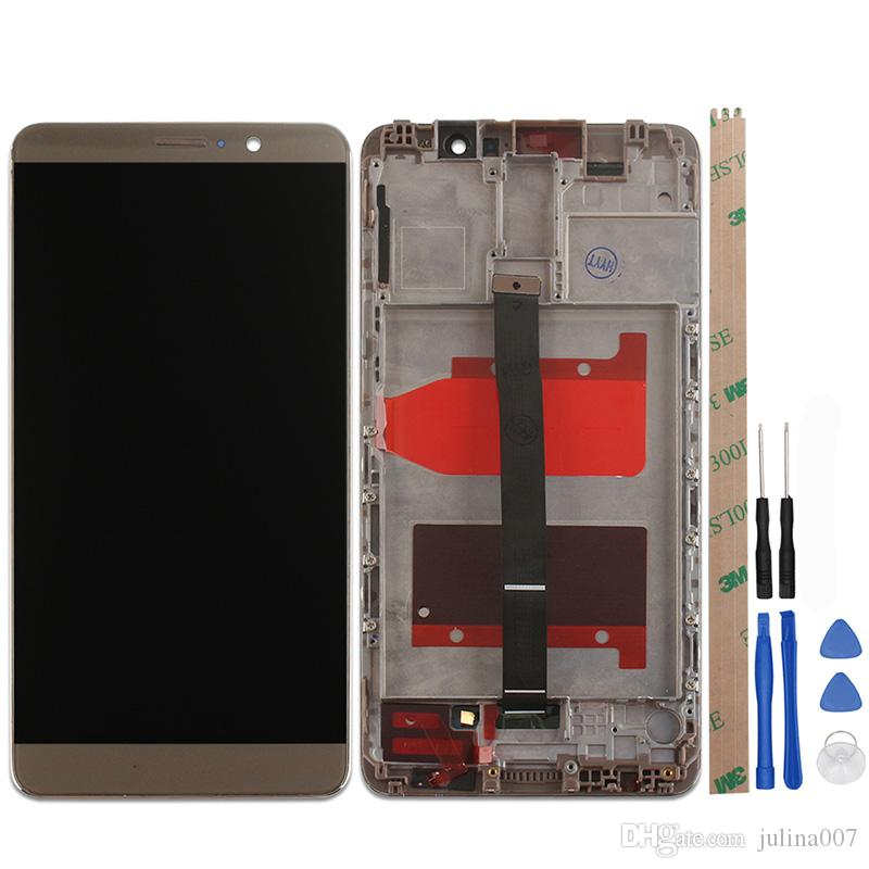 For Huawei Mate 9 LCD and Touch Screen With Frame Assembly Repair Part 5.9 inch For Huawei Mate 9 Cell Phone+Tools Free