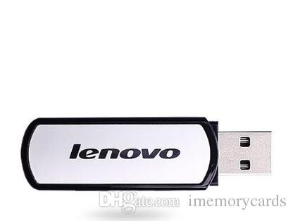 Lenovo T180 USB 플래시 드라이브 Pendrive 64GB 128GB 256GB USB 2.0 스틱 메모리 스틱 펜 드라이브 소매 패키지 무료 배송