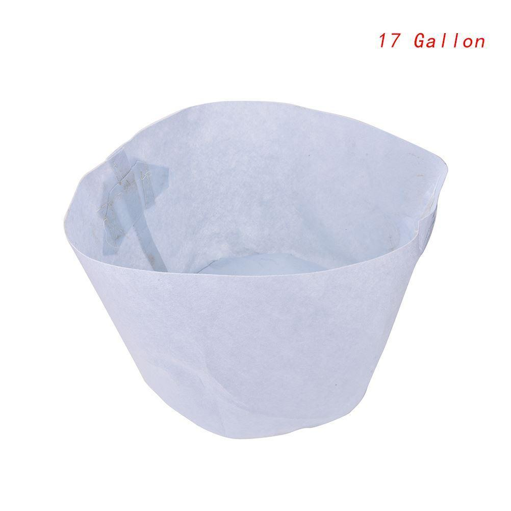 Environment Non-Woven Fabric Reusable Soft-Sided Highly Breathable Grow Pots Planting Bag With Handles Large Flower Planter