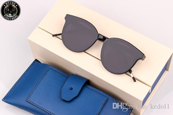 a92cfbfd384 2019 Korean Gentle Vintage Sunglasses Black Peter Retro Round Sun Glasses  For Men Womens Monster Brand Designer UV400 Oculos De Sol Womens Sunglasses  ...