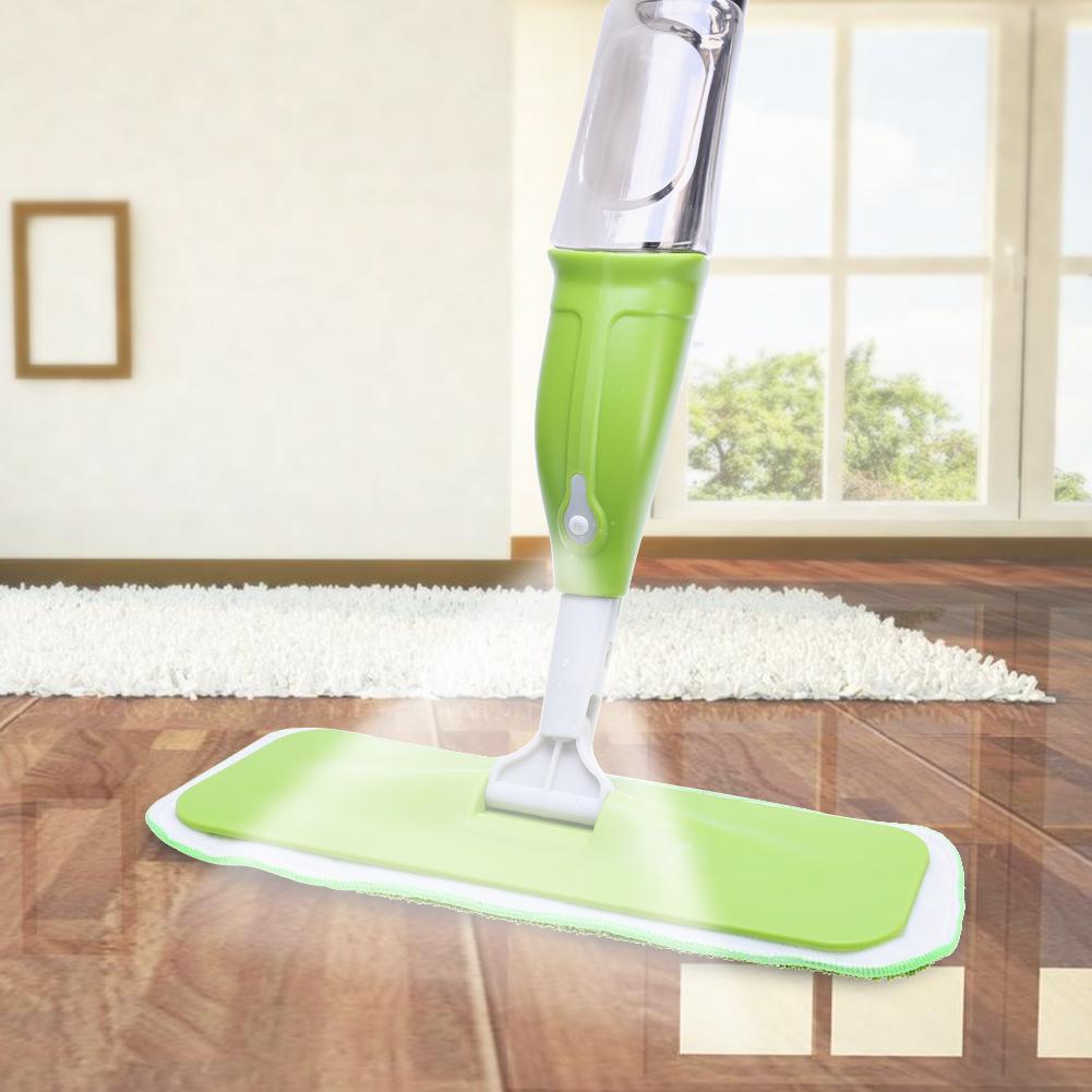 350 ML Spray Mop Herramienta de limpieza de piso Paño de microfibra Lavado a mano Mop Home Windows Kitchen Mop Sweeper Broom