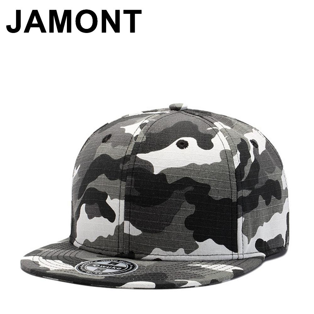 69584fbb6c6 Jamont Mens Camo Cotton Snapback Caps Street Dancing Hip Hop Hats Flat Brim  Fitted Gorras Baseball Cap Tatctical Adjustable Hats Hats For Sale  Neweracap ...