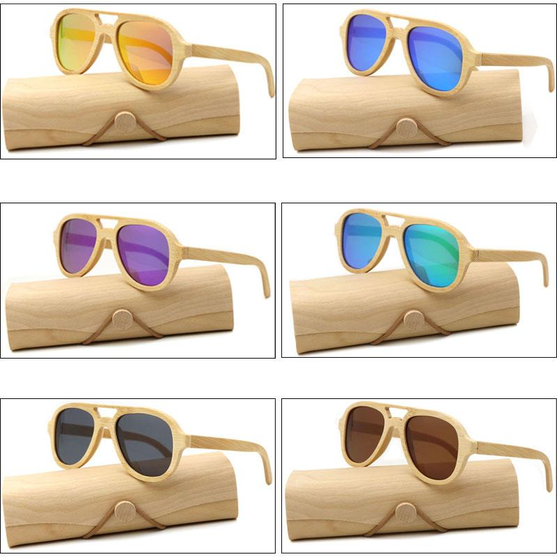 8507288ae4 Factory Outlet Real Wood Sunglasses Polarized Wooden Glasses UV400 Bamboo  Sunglasses Brand Wooden Sun Glasses With Wood Case Womens Sunglasses  Sunglasses ...
