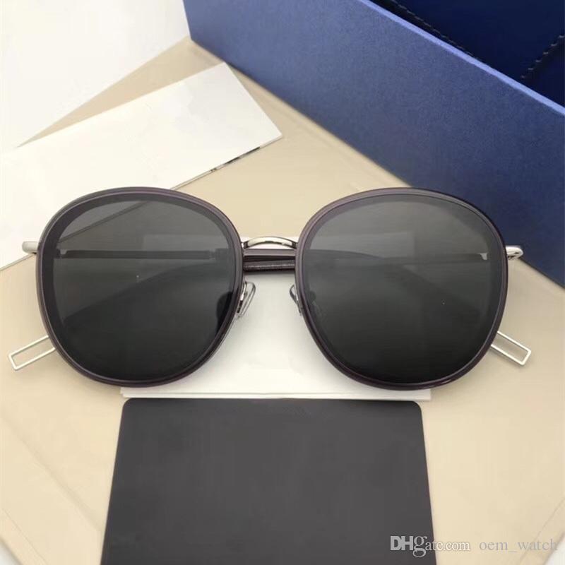 170b3c9c2a 2018 New Round Vintage Sunglasses Women Pink Adumbral Glasses Big Frame  UV400 Goggles Sunglass Fashion Korea Style Polarized Sunglasses Sunglases  Cheap ...