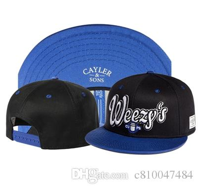 c1a53733071 Hot Sale STARTED FROM THE BOTTOM CAYLER   SONS Blue Baseball Caps Snapback  Hats Ball Summer Casual Hats Snap Back Sports Caps Richardson Caps  Customized ...