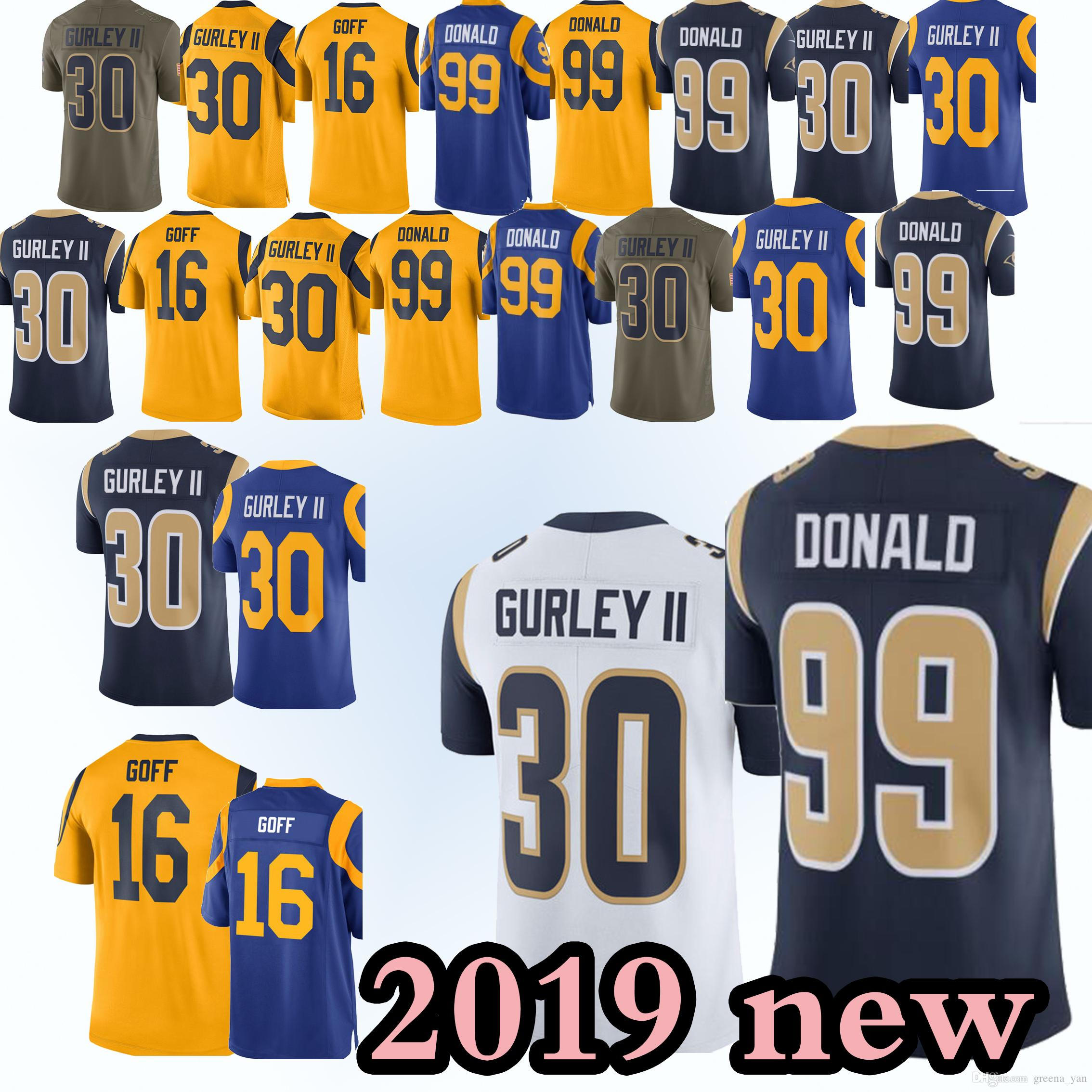 74408117 ... where to buy 2019 new los angeles rams jerseys 99 aaron donald 30 todd  gurley 16