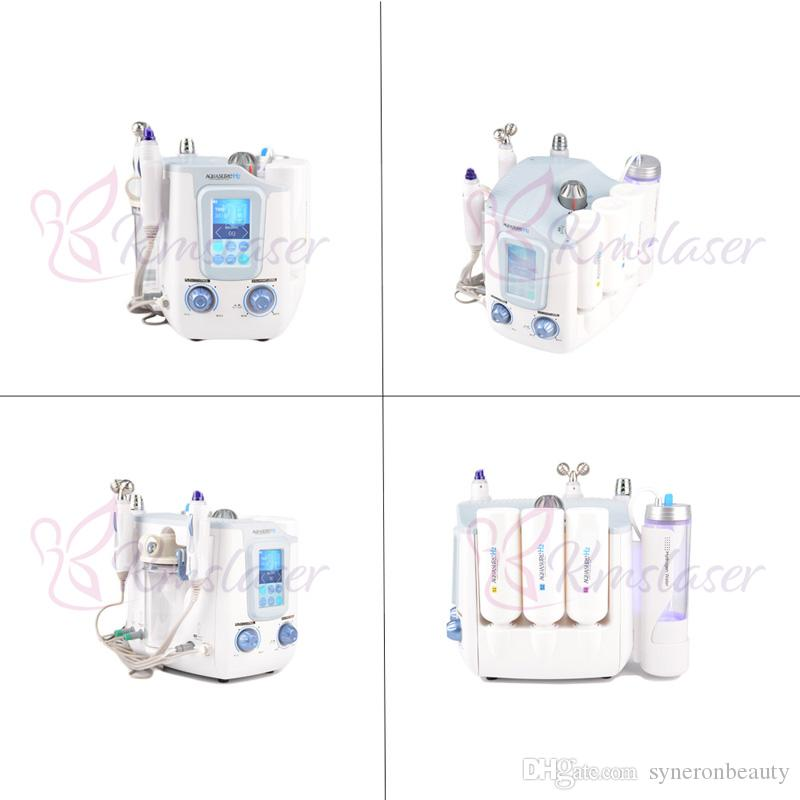 3 in 1 Microcurrent Galvanic Face Lift Remove Wrinkle Hydrogen Hydra SPA facial machine