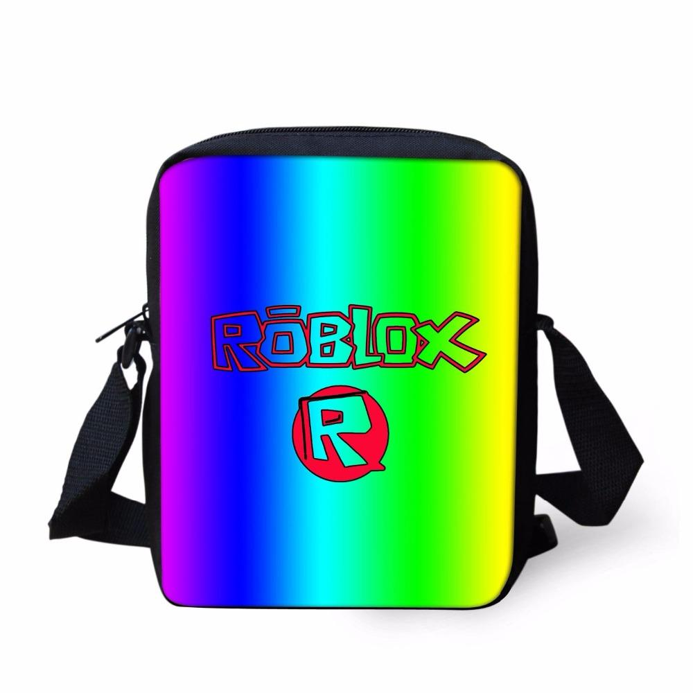 a44cebf97b5c Fashion Roblox Games Small Kid School Handbags New Men Messenger Bags Kids  Boys Girls Travel Crossbody Shoulder Bag School Bag Leather Backpack Purse  ...