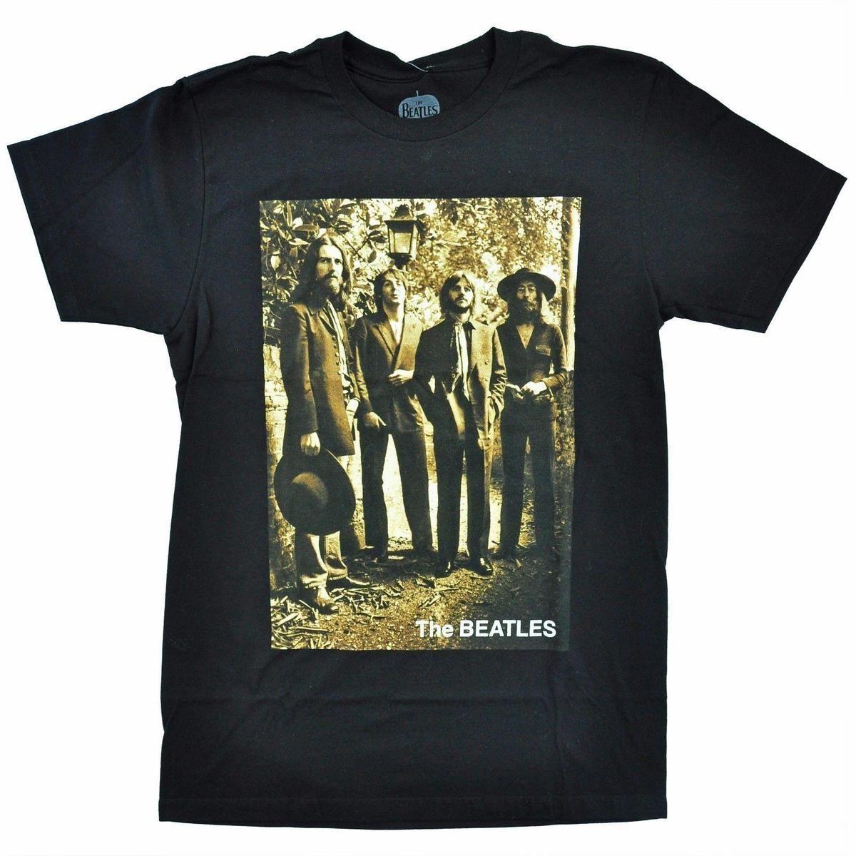 Beatles 1969 Sepia Tone Mens T Shirt Dirty T Shirts Graphic Tee