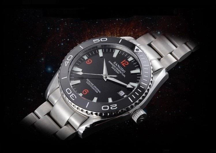 40MM SANGDO men's watch Sapphire mirror waterproof zhang0264b best watch 2016 new fashion