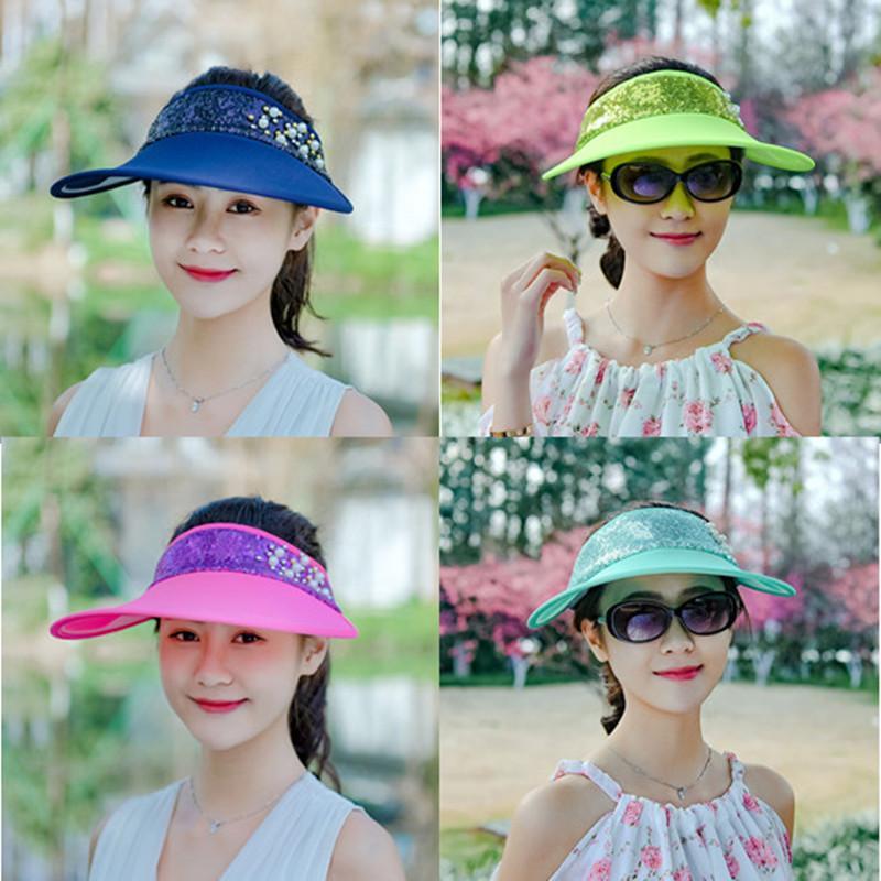 99773f643e8 Lady Visors Summer Hats Sun Protection Sun Hats Protect From Sun Mens Hats  Floppy Hat From Shunhuico