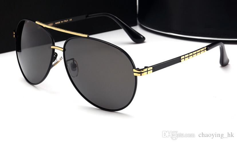 95d4339f3df High Quality New Sunglasses Men s Polarized Sunglasses Large Frame ...