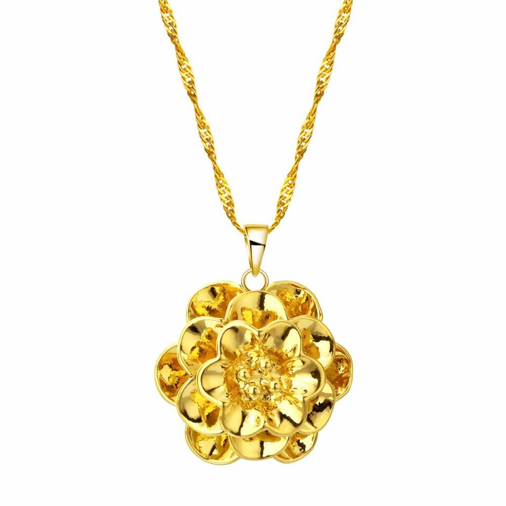 Großhandel Chengxun Eröffnung Rose B Halskette Gold Kette Münze Us