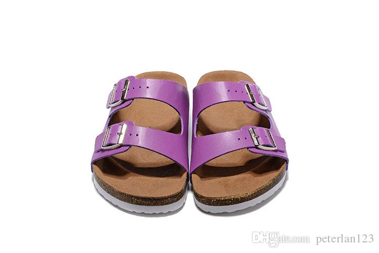 78cbd8e7b161 High Quality Brand Birk Monterey Genuine Leather Slippers For Men ...