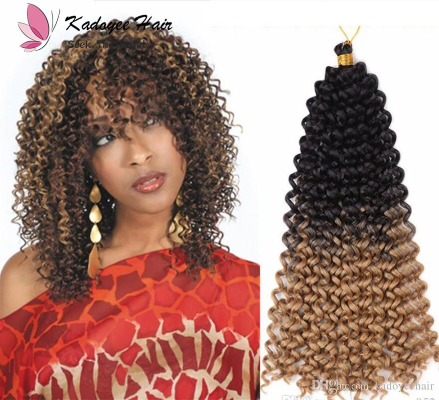 2018 Synthetic Braiding Hair Extension Water Wave Freetress Crochet
