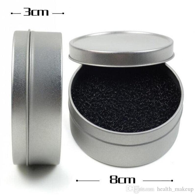 Qualidade de fábrica Cor Limpo Esponja Pincel de Maquiagem Ferramenta Caixa de Limpeza Escova Cosmética Remoção de Cor Seca Limpa Escova de Limpeza Ferramenta de Maquiagem