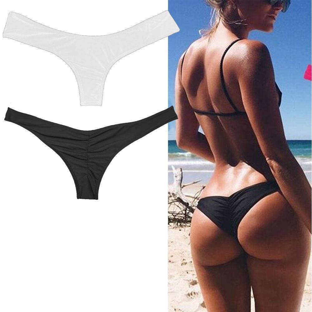 2018 Comfortable Sexy Women Tanga Bikini Brazilian Swimwear Swimsuit G  String Briefs Panties Underwear Sportswear Accessories MJ UK 2019 From  Silan 5a973aa66