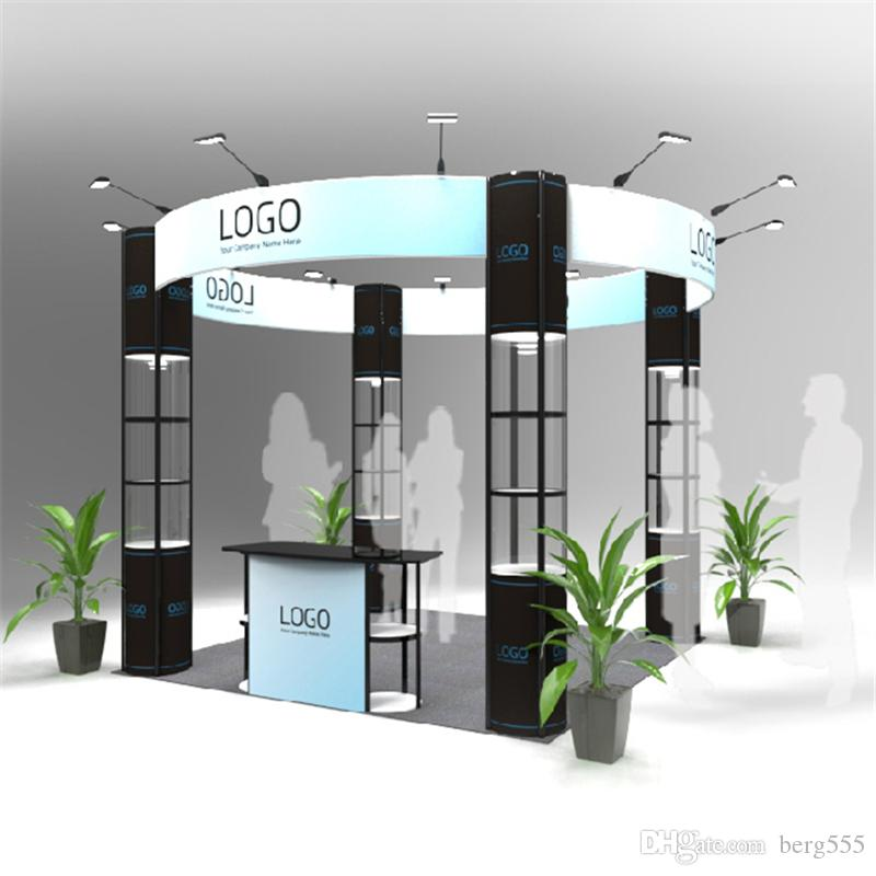 Normal Exhibition Booth Size : Standard ft ft exhibition booth round trade fair combined