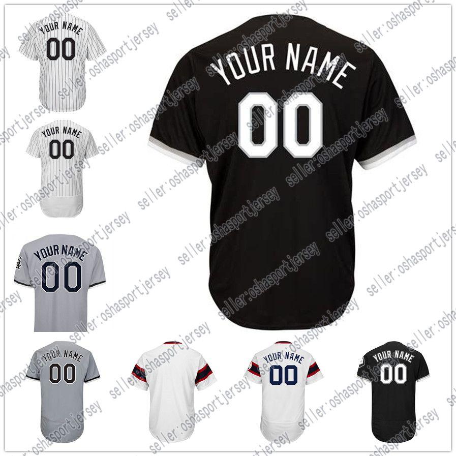f00f5efcd ... shop 2018 baseball jerseys mens chicago customized majestic black white  grey green flexbase cool base authentic ...