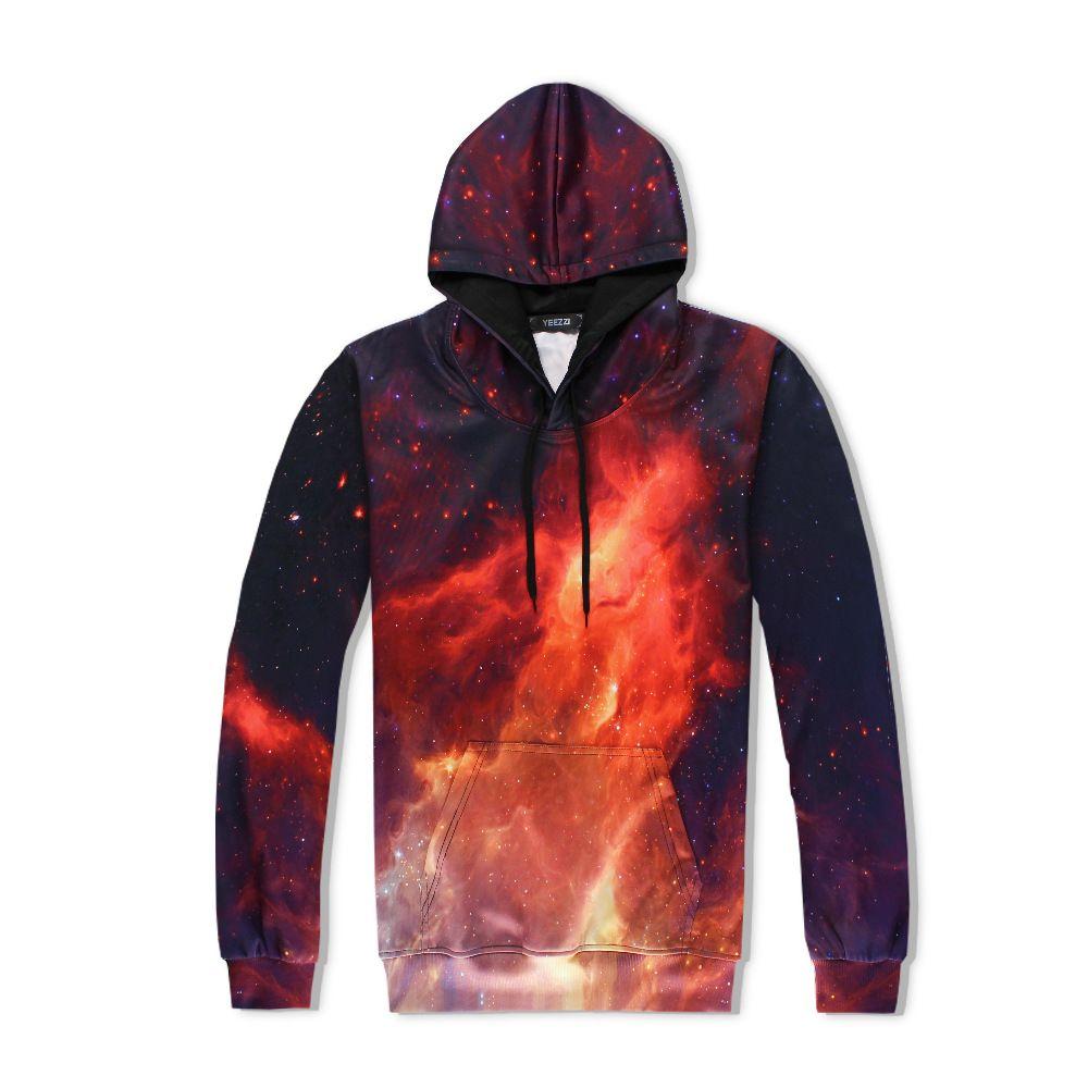 067bb29cd858 2019 SzBlaze Brand New Unisex Mens Fire 3D Print Casual Hoodies Sweatshirt  With Cap Cool Cartoon Women Neutral Spring Autumn Clothing From Clothfirst