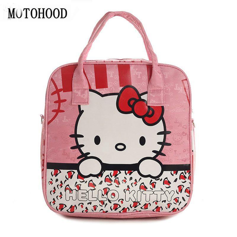 2aa7be0ac5 MOTOHOOD Hello Kitty Baby Diaper Organizer Handbags For Moms Mother ...