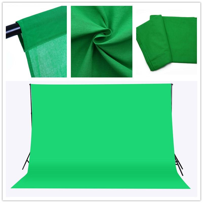 2018 cy free ship 3x2m solid color backgrounds green screen cotton